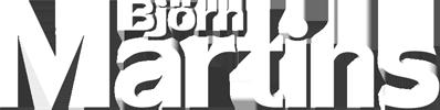 Björn Martins Schriftzug Logo