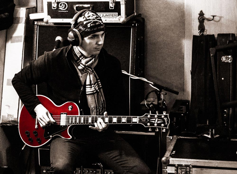 Björn Martins Sänger Songwriter Musiker Studio 2013