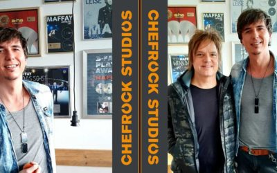 Björn Martins rockt in den Chefrock Studios Hamburg